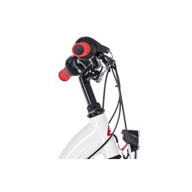 s'cool chiX 24 21-S - Vélo enfant - alloy rouge/blanc